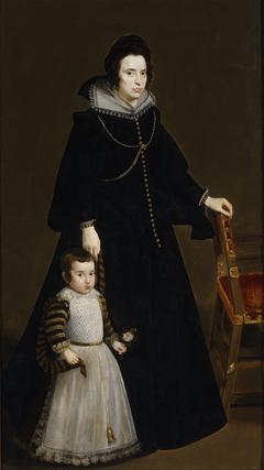 Doña Antonia de Ipeñarrieta y Galdós and Her Son Don Luis