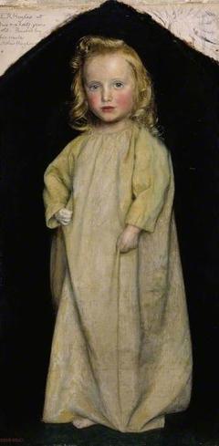 Edward Robert Hughes as a child