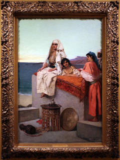 Evening on the Seashore—Tangiers