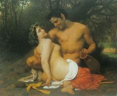 Faune et Bacchante