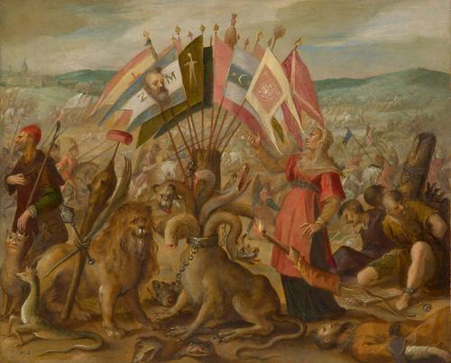 Five Allegories of the Turkish Wars: Battle of Brașov