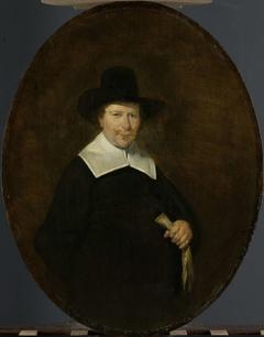 Gerard Abrahamsz van der Schalcke (1609-67). Haarlem Cloth Merchant