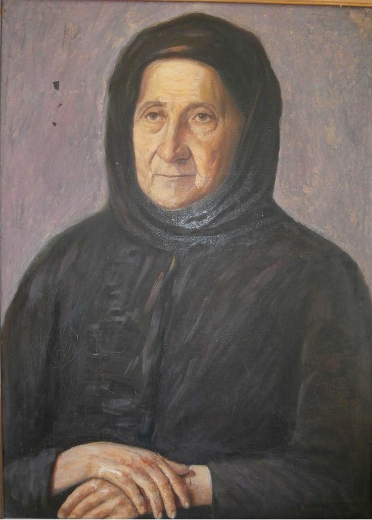 Γιαγιά - Grandmother - Artist's mother