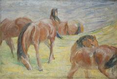 Grazing Horses I