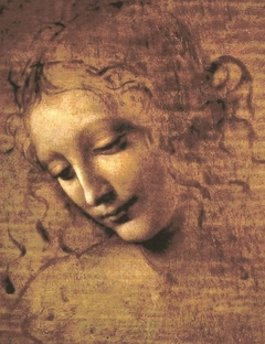 Head of a Woman,  La Scapiliata