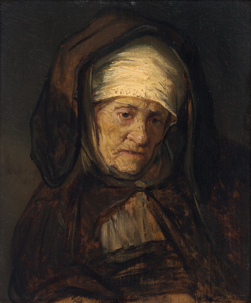 Head of an Aged Woman