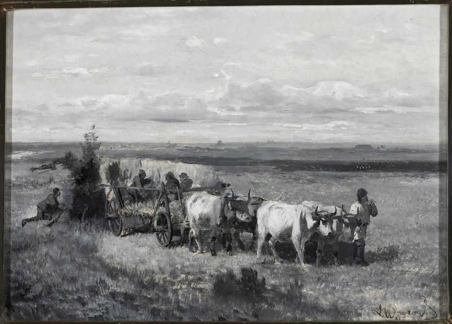 Hunting bustards