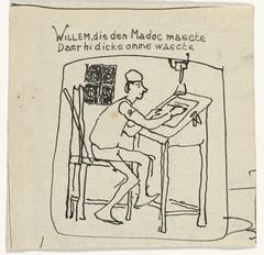 Illustratie voor Vanden Vos Reinaerde: Willem, die den Madoc maecte