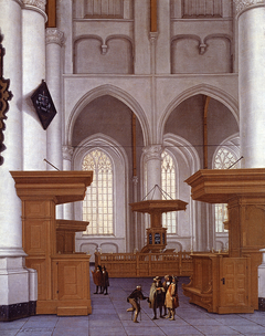 Interior Of The Laurenskerk, Rotterdam, View To The South