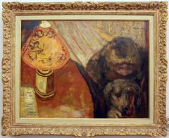 Interno - alla luce della lampada