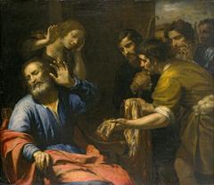 Joseph's Brothers Bringing His Bloody Coat to Jacob
