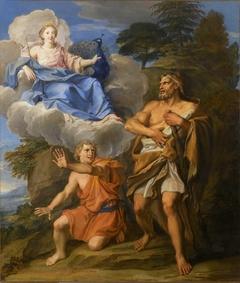 Junon apparaît à Hercule