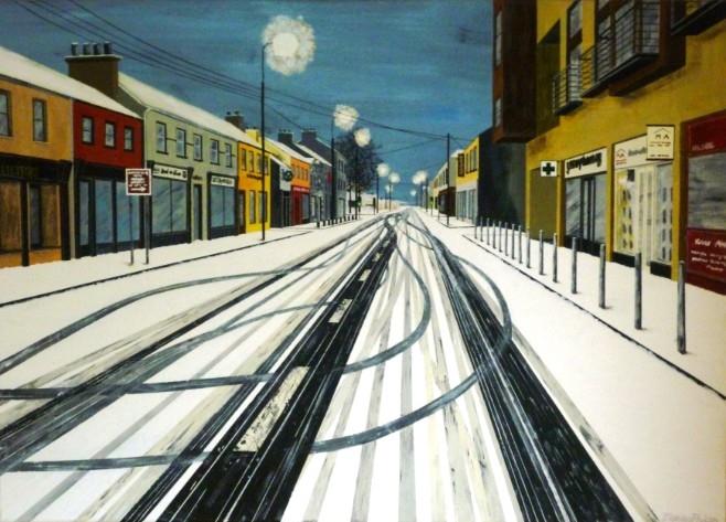 Kildare, Tracks in the Snow