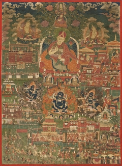 Kunga Tashi and Incidents from His Life (Abbot of Sakya Monastery, 1688-1711)