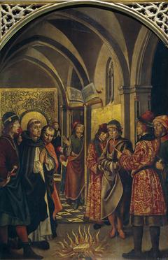 La prueba del fuego (Santo Domingo y los albigenses)