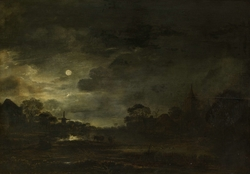 Landscape by moonlight