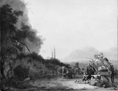 Landscape with a Removal Cart