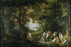 Landscape with Diana and Acteon