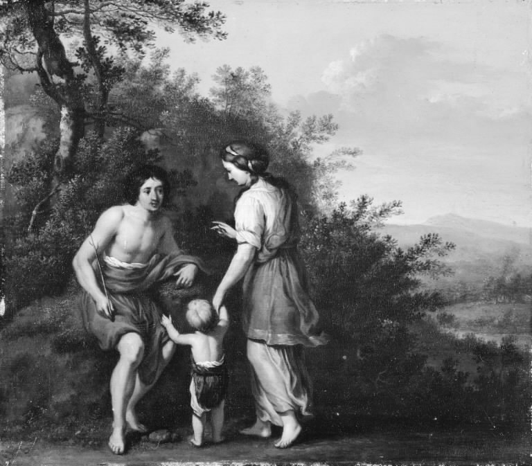 Landscape with Shepherd and Shepherdess