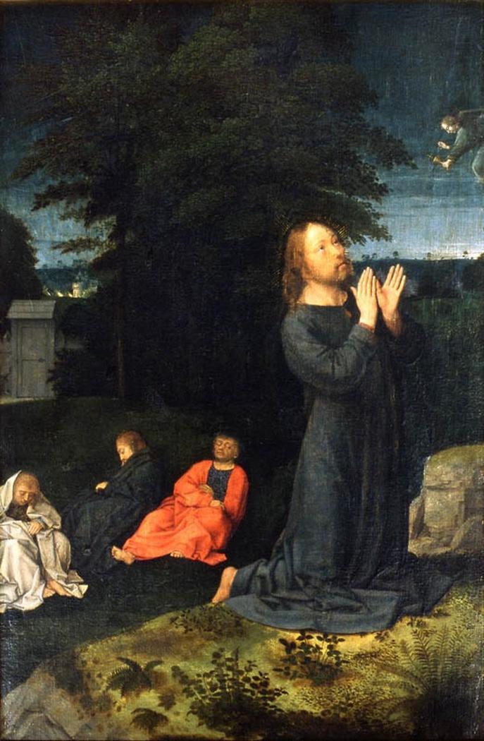 Le Christ au jardin des oliviers