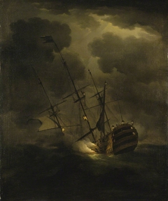Loss of HMS Victory, 4 October 1744