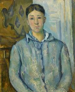 Madame Cézanne in Blue