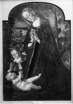 Virgin Adoring the Christ Child with the Young St. John the Baptist