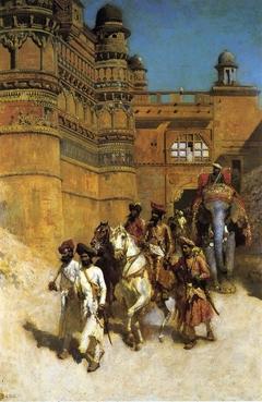 Maharaja of Gwalior, India