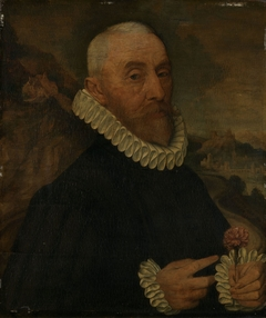 Man with a Carnation