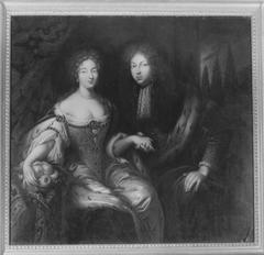 Markgraf Johann Friedrich von Brandenburg-Ansbach and his second wife, Eleonore Erdmuthe Luise von Sachsen-Eisenach (Werkstatt?)