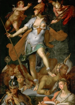 Minerva Victorious over Ignorance