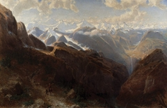 Morning in the Peruvian Andes