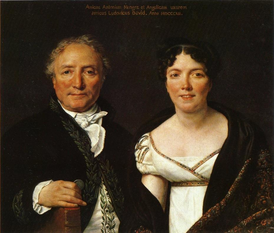 Mr. and Mrs. Antoine Mongez