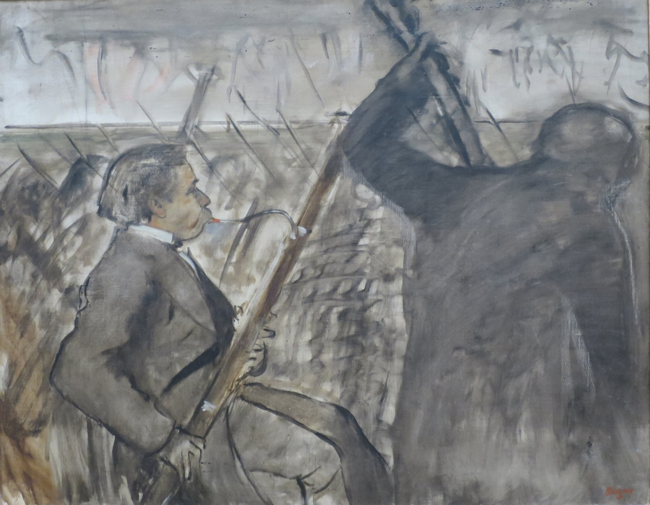 Musicians in the Orchestra (Portrait of Desire Dihau)