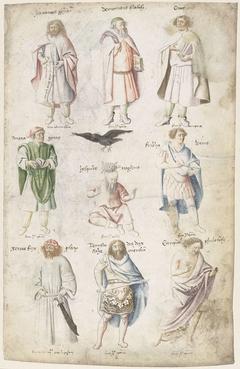 Negen mannen uit de Oudheid