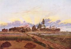 Neubrandenburg in Flames