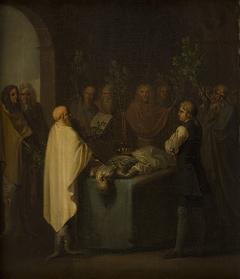 Niels Klim Attends the Sentencing of the Deceased Potuan Prince.