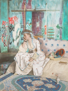 ''Noon'' A tribute to Jean Etienne Liotard