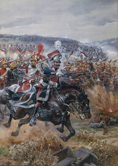 Poniatowski's Last Charge at Leipzig