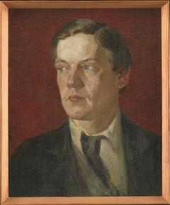 Portræt af den svenske maler Gustaf Wolmar