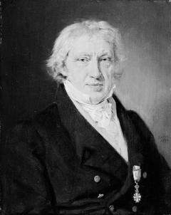 Portræt af Søren Nicolaus Johan Bloch, rektor ved Roskilde Kathedralskole