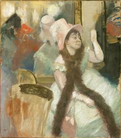 Portrait after a Costume Ball (Portrait of Madame Dietz-Monnin)