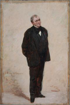 Portrait d'Émile de Girardin (1806-1881), publiciste et homme politique
