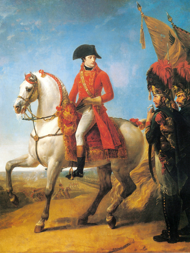 Portrait équestre de Bonaparte, 1er Consul à Marengo