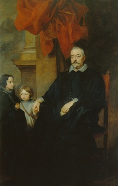 Portrait of a Gentleman of Genua with two children