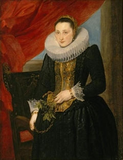 Portrait of a Lady, circa 1618-1621
