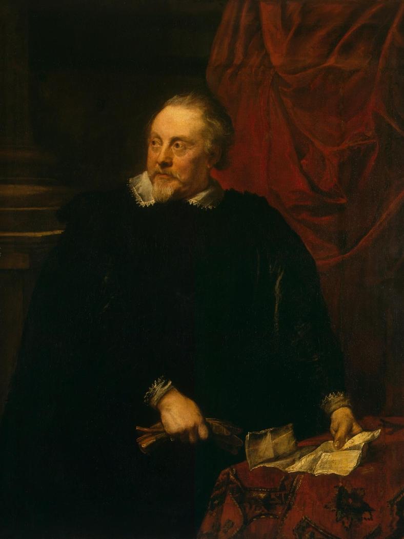 Portrait of a Man (Portrait of Mark-Antoine Lumagne ?)