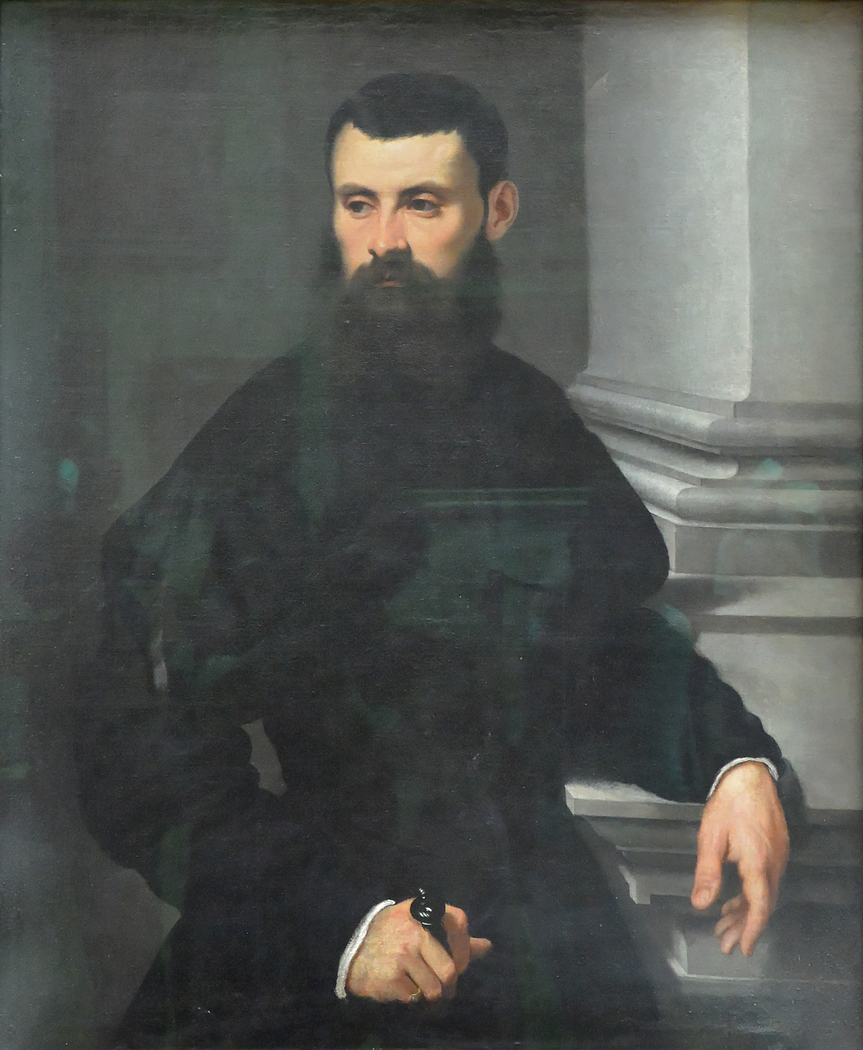Portrait of a Nobleman, His Hand on a Sword