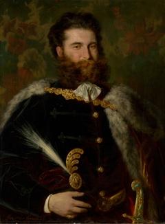 Portrait of Albert Ujházy