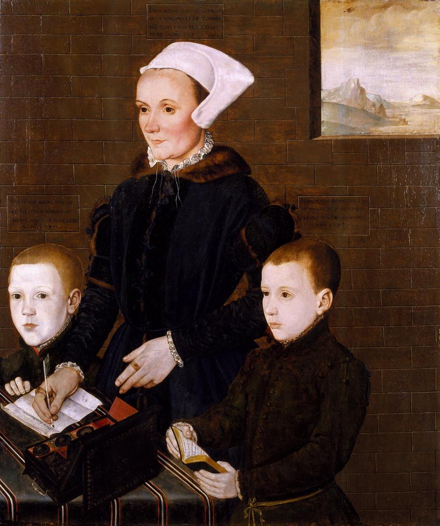 Portrait of Alice Barnham (nee Bradbridge)